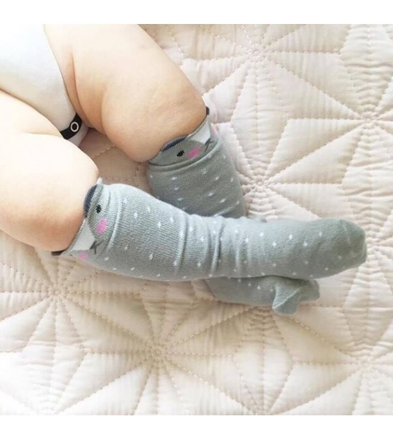 Chaussettes petit ours