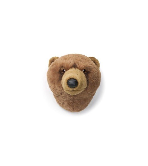 Troph e peluche ours brun clair oliver milkybunnies for Meubles flamant outlet