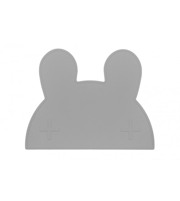 Set de table silicone Lapin menthe