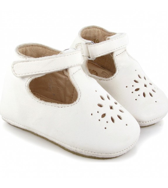 Chaussons Lilly blanc