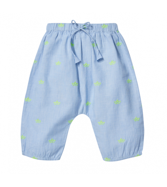 Pantalon brodé Willy Paper boat