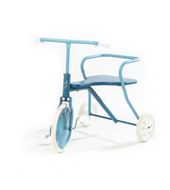 Tricycle en métal bleu Foxrider