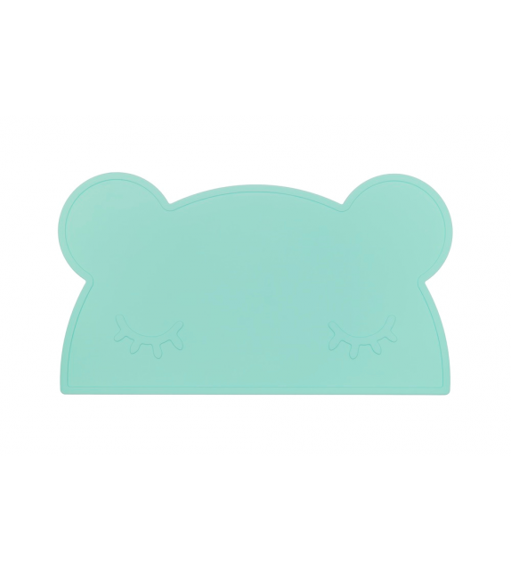 Set de table silicone menthe Ours