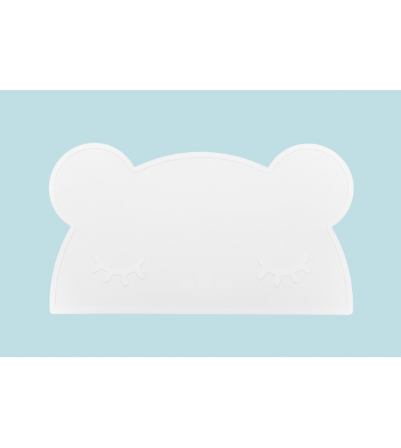 set de table silicone blanc ours milkybunnies. Black Bedroom Furniture Sets. Home Design Ideas