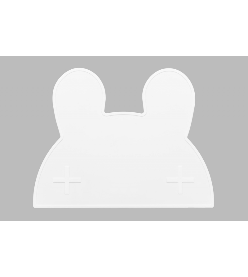 set de table silicone blanc lapin milkybunnies. Black Bedroom Furniture Sets. Home Design Ideas