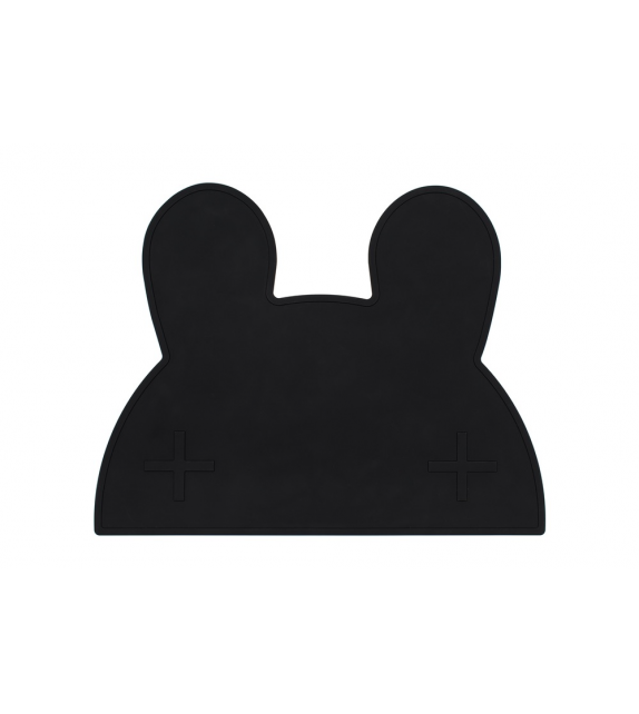 Set de table silicone blanc Lapin
